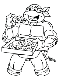 Lego Teenage Mutant Ninja Turtles Colouring Pages Coloring Printable