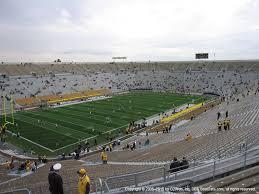 Notre Dame Stadium Seating Chart Garth Brooks Notre Dame Stadium View From Upper Level 132 Vivid Seats