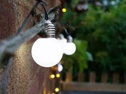 elan solar festoon garden lights