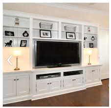 Living Room Built In Cabinets This Might Could Work On Our Long Wall In The Den Just Dont Want