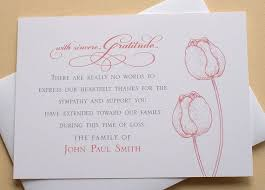 best 20 funeral thank you cards ideas on pinterest sympathy Wedding Thank You Cards No Pictures funeral thank you cards with 2 burgundy or 2 purple tulips flat cards wedding thank you cards photo
