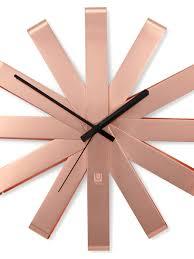 <b>Часы настенные ribbon медь</b> - цена 4 900 руб, купить в интернет ...