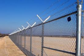 chain link fence. Security Fence Is Great For Keeping People Out Of Your Location. We Will Build The Based Off Specs And Guidelines. Chain Link