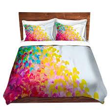 rainbow fine art rainbow duvet covers king queen twin