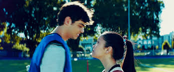 Find funny gifs, cute gifs, reaction gifs and more. To All The Boys I Ve Loved Before Lana Condor And Noah Centineo Kissing