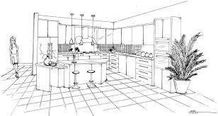 kitchen drawing perspective. Perfect Kitchen Hand Kitchen Design Drawing Tool Floor Via Asumadvrlistscom With Kitchen Drawing Perspective
