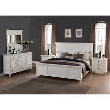 Shop Regitina White 5-Piece Queen-size Bedroom Furniture Set - Free ...