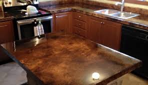 how to acid staining concrete countertops directcolors com regarding stained countertop design 1