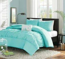 twin beds for teenagers. Exellent Teenagers Girls Teen SKY BLUE SONGBIRD RUCHED Comforter Sham Pillow Bedding Set TWIN Inside Twin Beds For Teenagers E