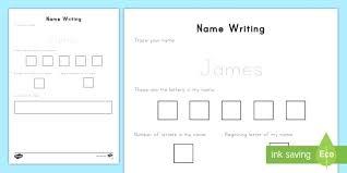 Practice Writing Letters Practice Name Writing Preschool Name Their Worksheet Writing