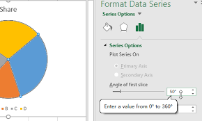 How To Rotate A Pie Chart In Excel My Microsoft Office Tips