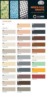 Grout Colour Chart Uk Mapei Grout Pantone Color Grout