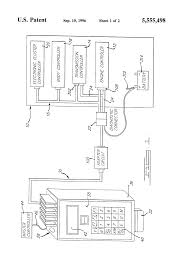 patent us5555498 circuit and method for interfacing vehicle patent drawing