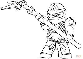 Ninjago Ausmalbilder Cole - Coloring and Drawing