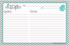 printable blank recipe cards 99 best recipe card templates images printable recipe cards
