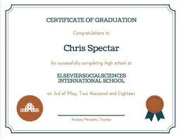 High School Diploma Certificate Fancy Design Templates 35 High School Diploma Template Download Free