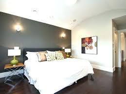 dark wood floor bedroom. Wonderful Floor Dark Gray Room With Accent Wall Example Of A Trendy Wood  Floor Bedroom Intended Dark Wood Floor Bedroom S