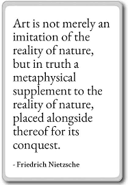 Nature Quotes Delectable Amazon Art Is Not Merely An Imitation Of The R Friedrich