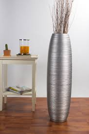 Tall Floor Vase 36 inches, Wood, ...
