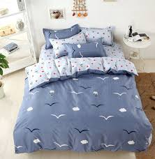 smile bedding set kids cotton bed sheet duvet cover pillowcases full queen super king