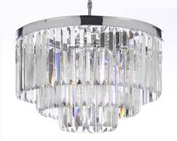 palladium empress crystal tm glass fringe 3 tier chandelier com