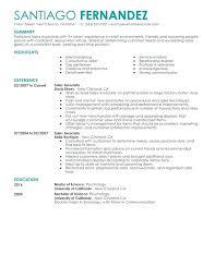 Retail Job Resumes Retail Job Resume Objective Examples Resumes Sample Of Sales
