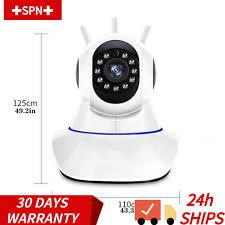 Camera Giám Sát Xoay 360 Độ 720p Kết Nối Wifi giá cạnh tranh
