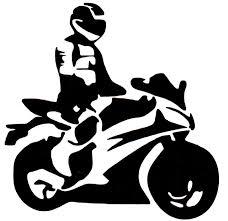 <b>Наклейки</b> на автомобиль и мотоцикл <b>Mashinokom</b> Байкер силуэт ...