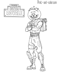 Fortnite Battle Royale Coloring Page Tomatohead Fortnite In 2019