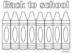Small Picture Back to School Coloring Pages School colors School and Child