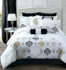 cute white bedding medium size of gold twin bedding purple white black comforter gray sets