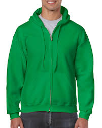 Heavy Oz Gildan® Full Sweatshirt Gildan Adult 0 yd² 18600 Zip 8 Hooded Blend™