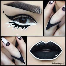 25 best ideas about drag queen makeup on black and white