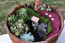 garden crafts. Fairy-succulent-garden-Crafts-Unleashed-4 Garden Crafts
