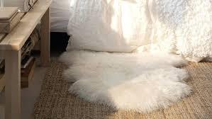 ikea sheepskin rug genuine sheepskin rug white ivory throw chair cover new ikea sheepskin rug