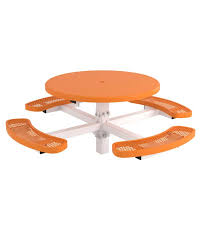 sku 745pt585 categories picnic tables metal picnic tables round picnic tables tag regal style items