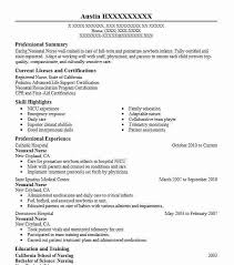 Nurse Educator Resume Nurse Resume Objectives Paknts Com