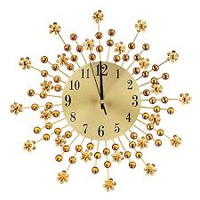 ftvogue 3d rustic handmade wall clock