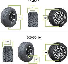 Tire Chart Meaning Golf Cart Tires Buggiesunlimited Com