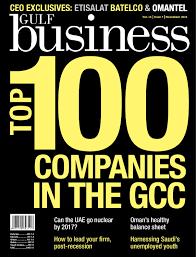Gulf Business | November 2010 by Motivate Publishing - issuu