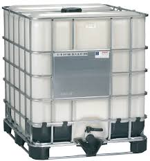 plastic ibc totes. Plain Plastic Mauser Caged IBC Tote Washed Bottle  275 Gallon 1 Intended Plastic Ibc Totes