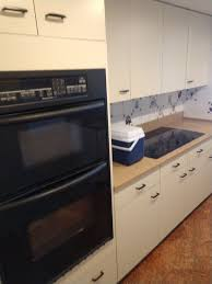 built in smooth cooktop quartz countertops and sink pittsburgh