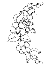 Flower Garland Drawing At Getdrawingscom Free For Personal Use