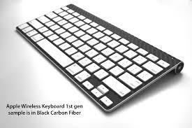 apple keyboard wireless. apple magic/numeric 1/2 keyboard - skin collection wireless i