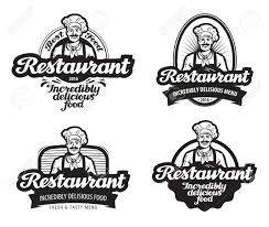 カフェレストランのベクトル食堂や飲食店のアイコン
