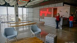 step inside google s new office at downtown austin skyser 500 west 2nd view slideshow