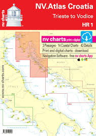 Nautical Charts Croatia Free Nv Atlas Croatia Hr 1