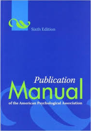 Simon Fraser University Bookstore Apa Manual 6th Edition
