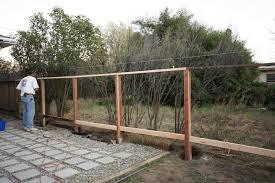 horizontal wood fence diy. Then The Horizontal Wood Fence Diy