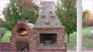 ... Marvelous Decoration Outdoor Fireplace And Pizza Oven Pretentious Design  Ideas Clever Home Together ...